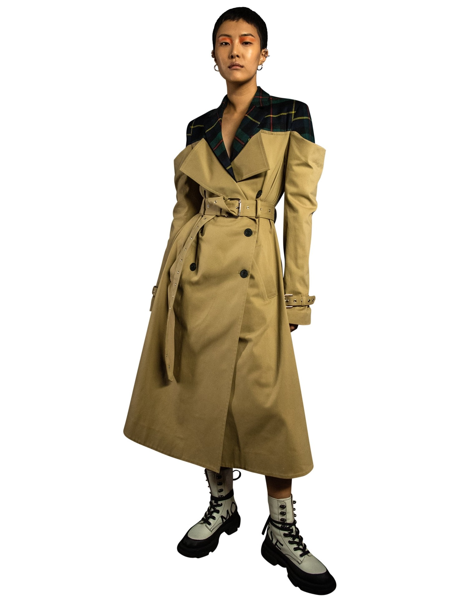 DECONSTRUCTED TRENCH COAT
