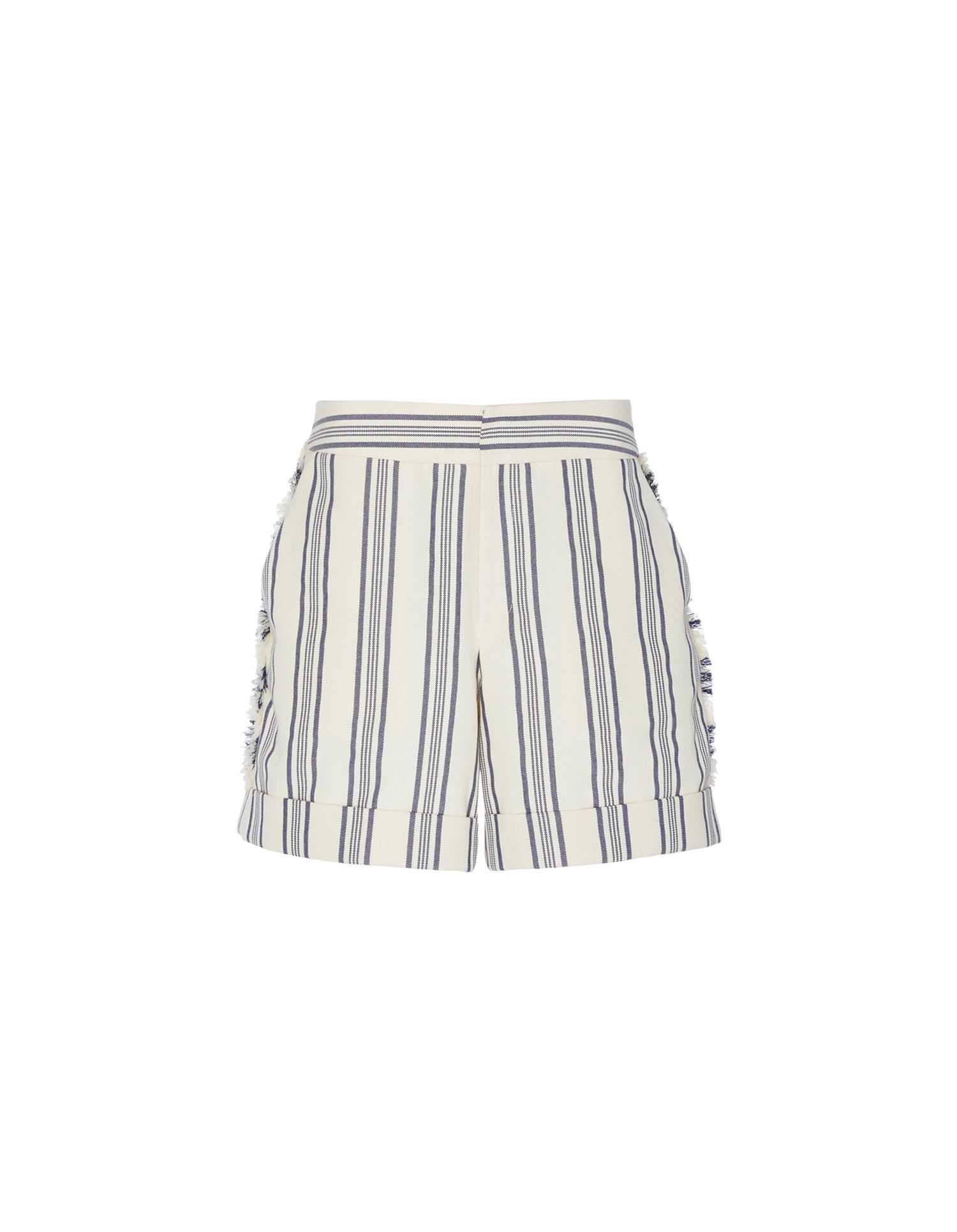 Fringed Stripe Short