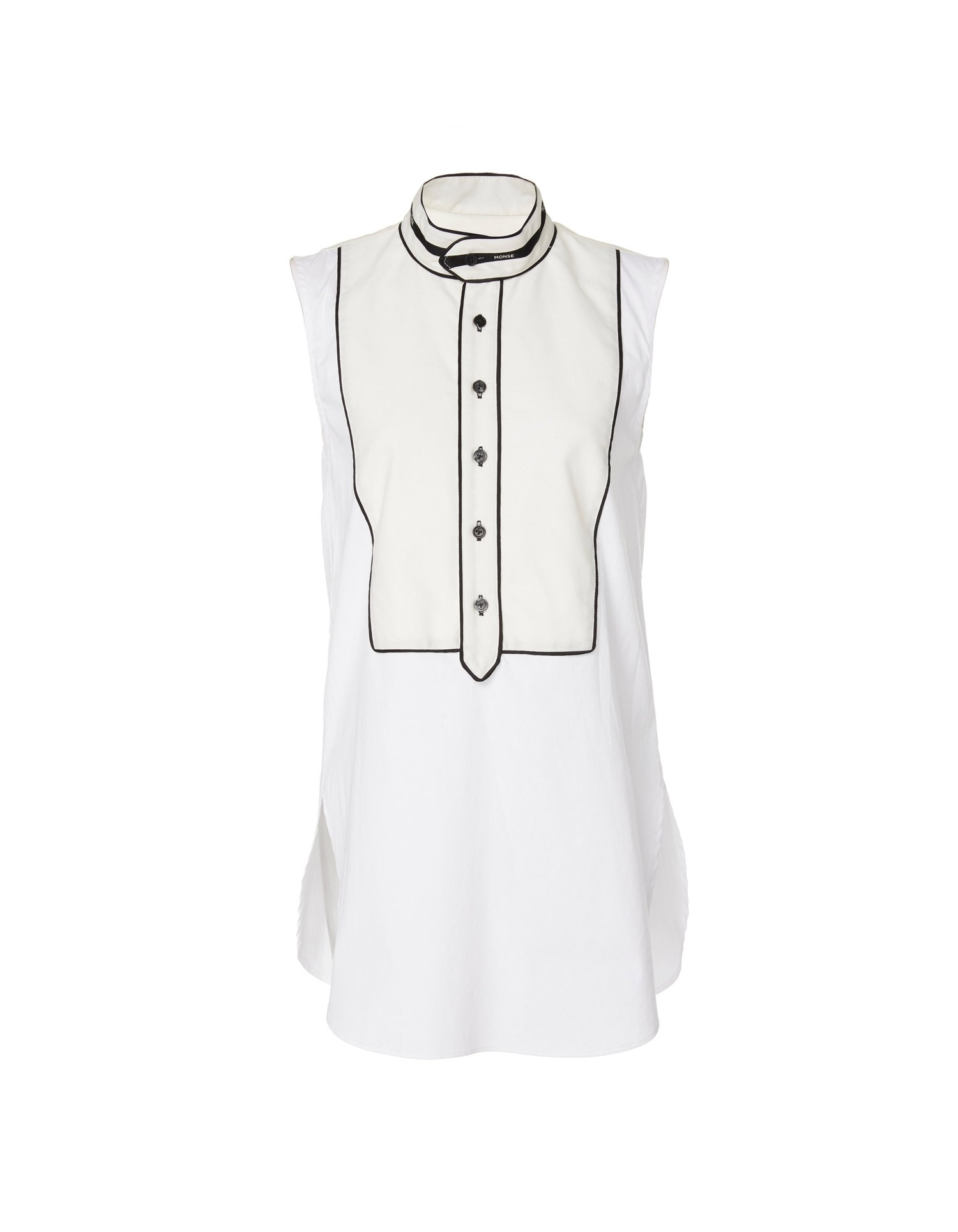 MONSE Inside Out Sleeveless Top Flat Front
