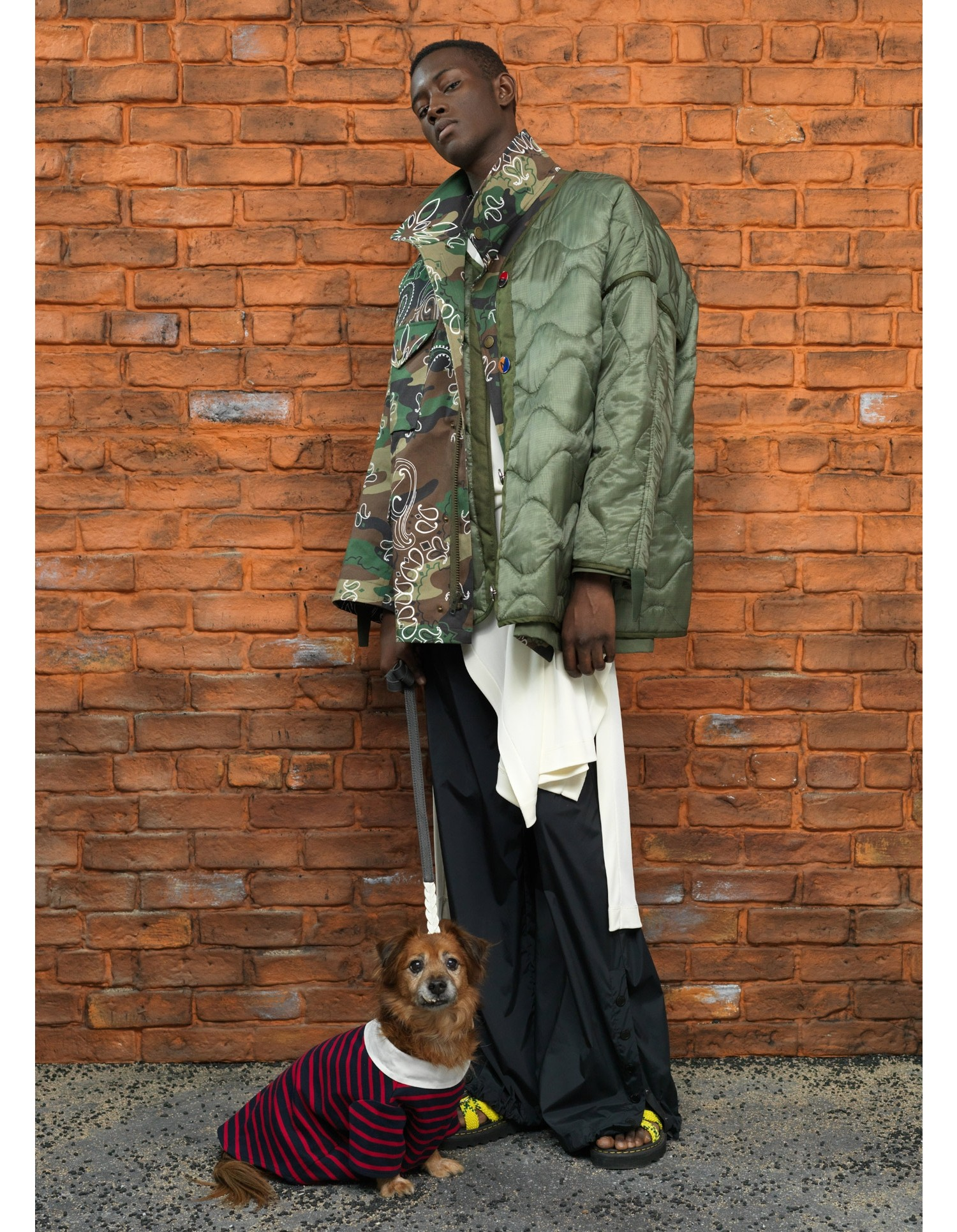 MONSE Oversized Double Camo Jacket Vogue Image