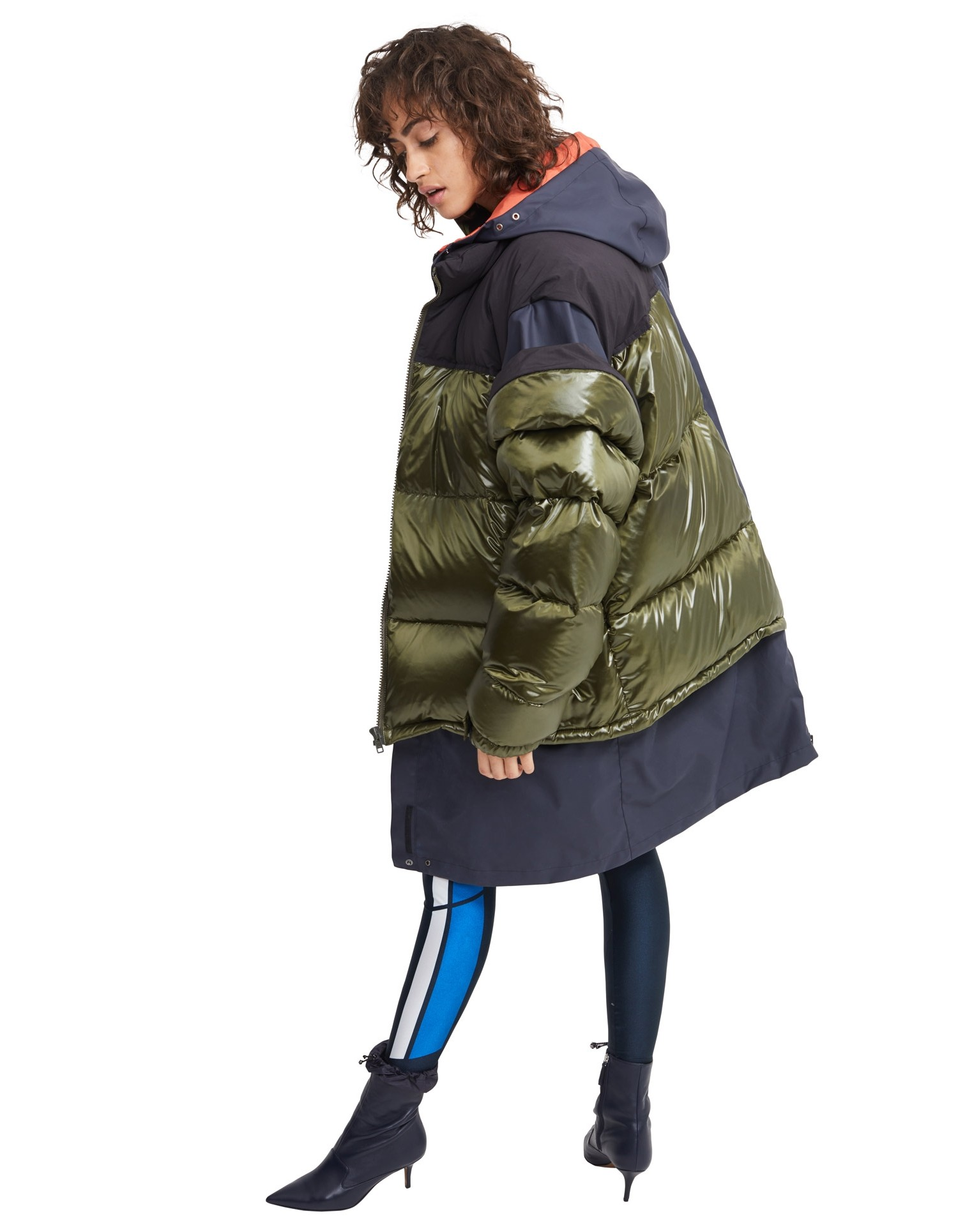 MONSE Solid Puffer on Model Side View