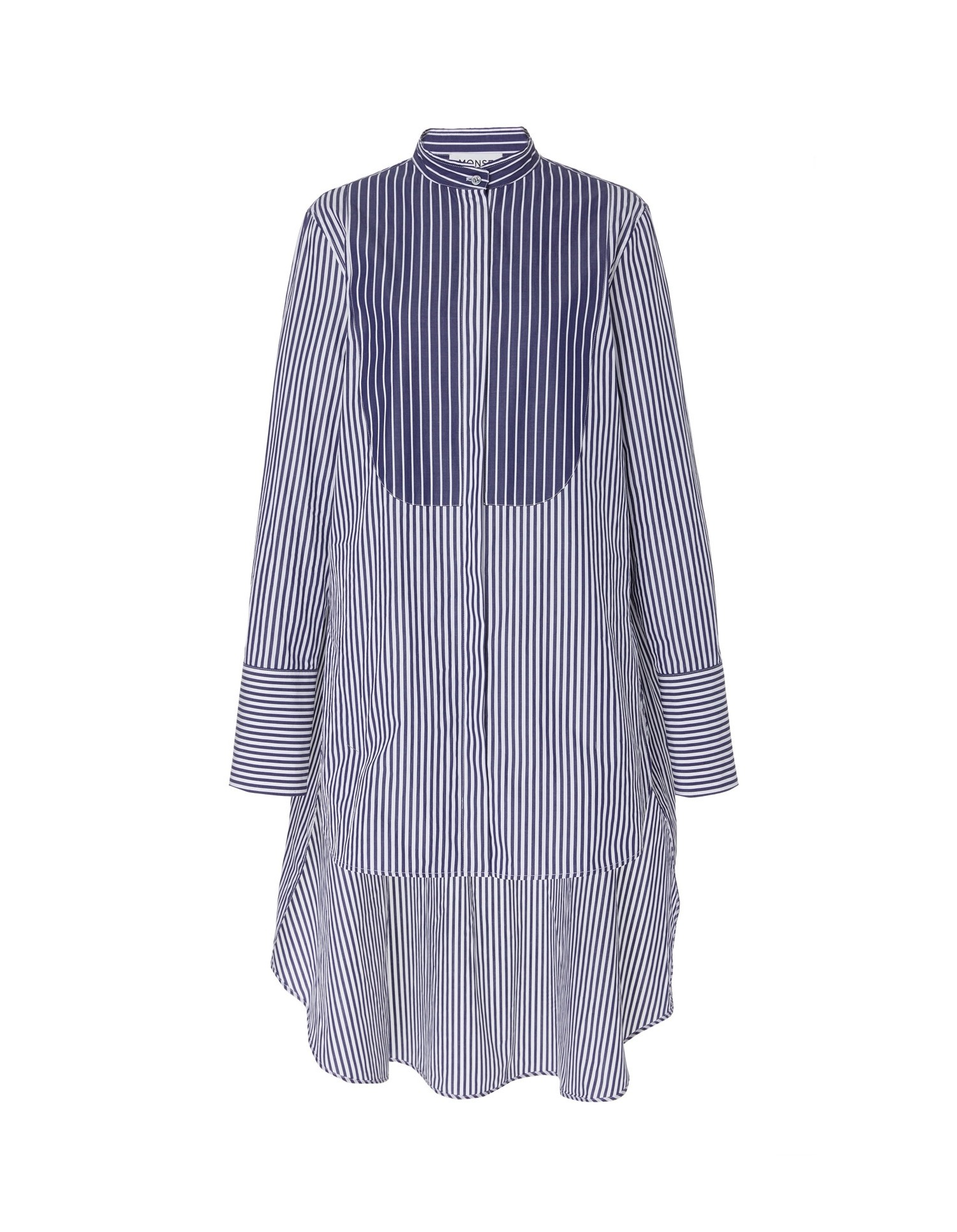 MONSE Typewriter Stripe Shirt Flat