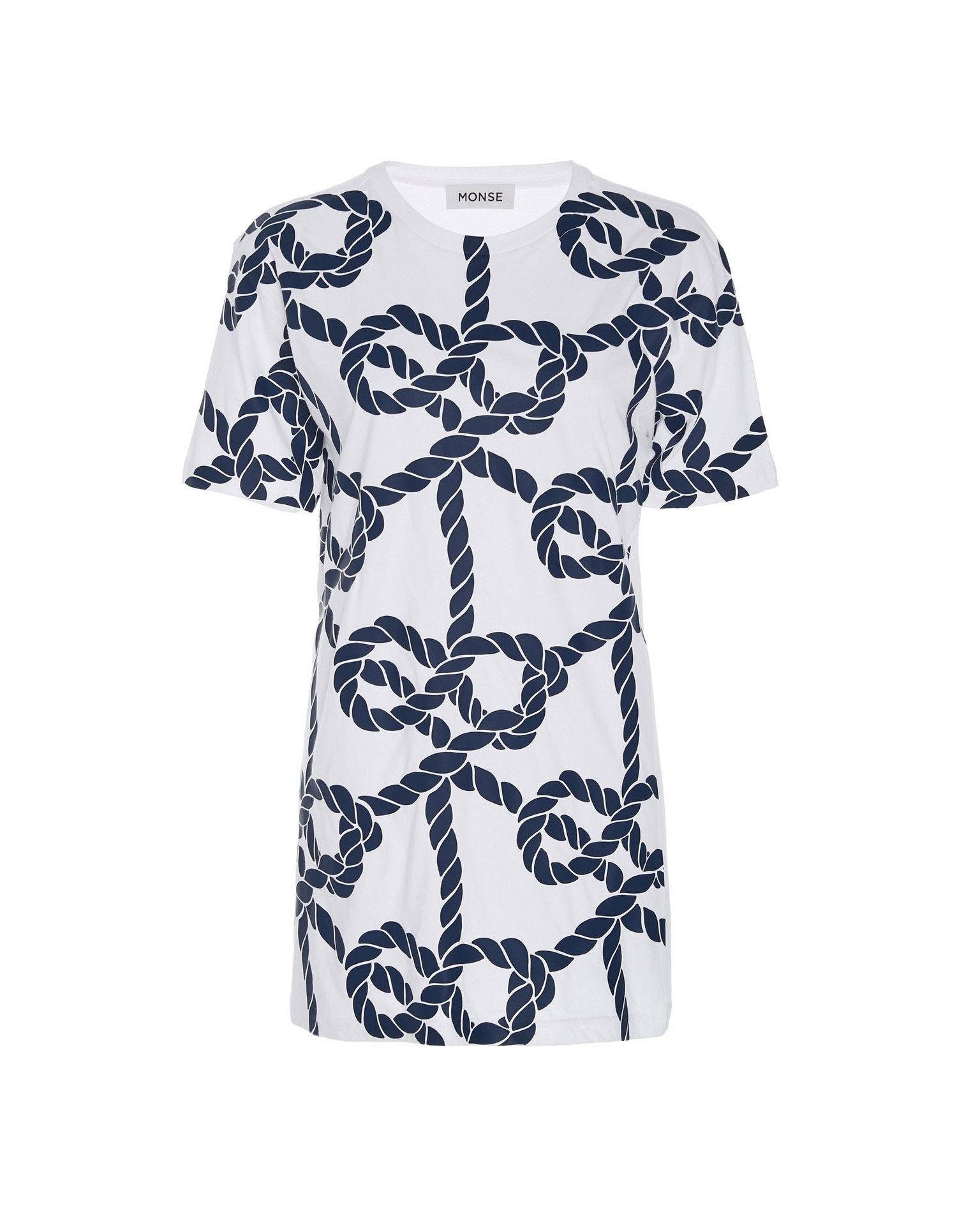 Monse Unisex Rope Print Tee Front