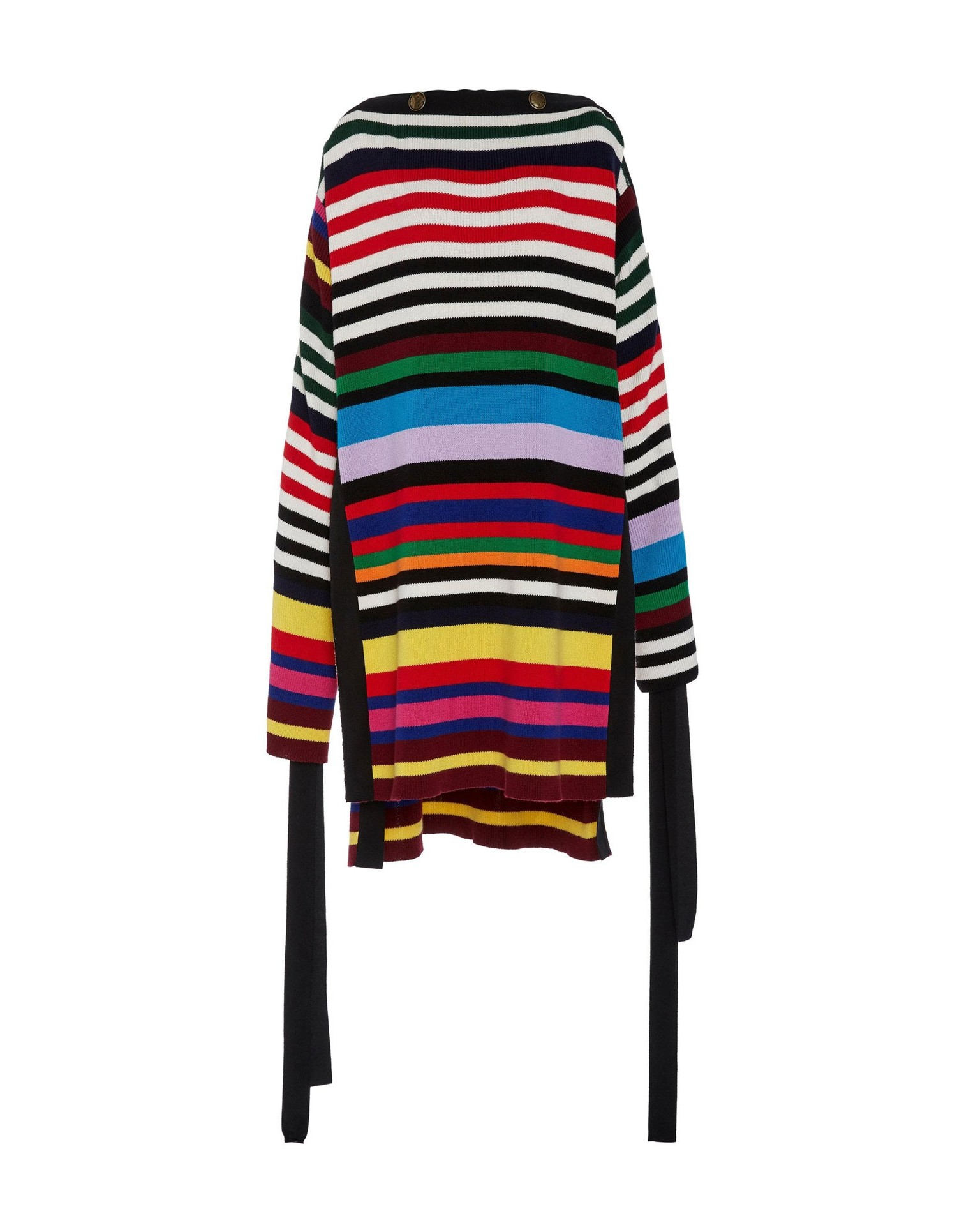 Monse Unisex Two-Tone Grosgrain Pullover Front