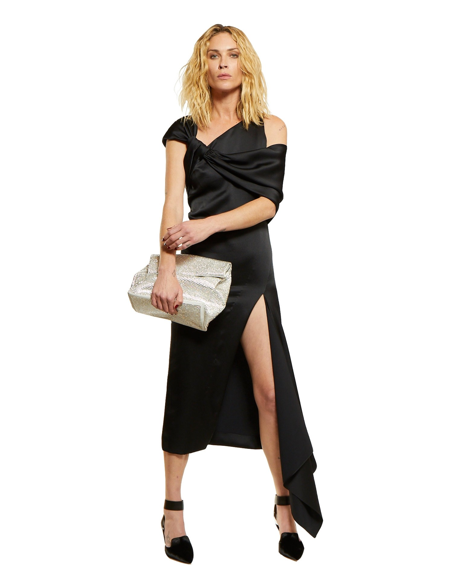 Twisted Neck Gown