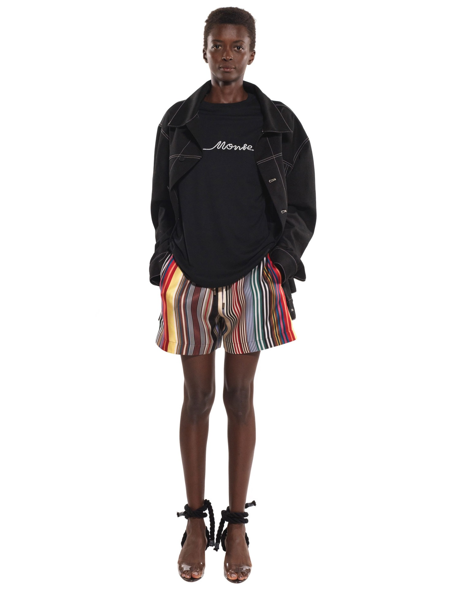 Rainbow Mid-Length Shorts