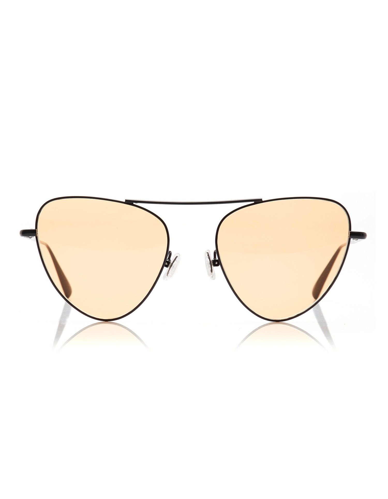 Monse Erika Sunglasses with Pale Pink Shades